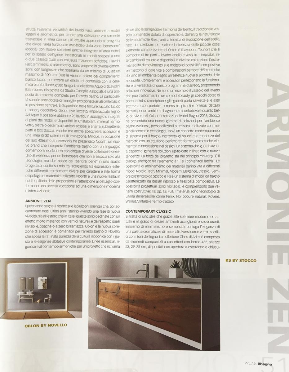 news / press novello - arredo bagni dal 1956 - Stocco Arredo Bagno Outlet